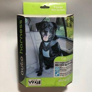 NIB Bergan Auto Harness for Pets (80-150lbs)